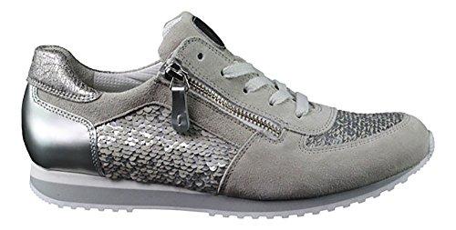 Paul Green Sneaker , Farbe: grau/silber Grau/Silber