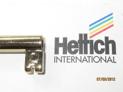 Schlüssel, Metall poliert, goldfarben, 74 mm lang, 6 mm breit, 21192