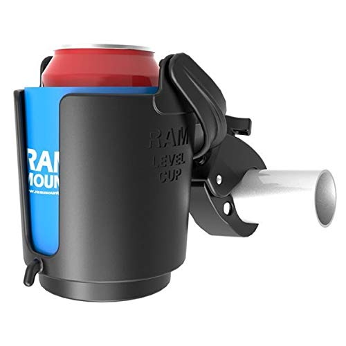 Ram Mounts RAM Drink Cup Holder W/TOUGHCL AW, RAM-B-132-400U (AW) -