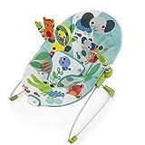 GZ Baby-Schaukelstuhl-Tragbarer Tuch-Erschütterungs-Schaukelstuhl Für 0-3-Jähriges Baby,Grün,1