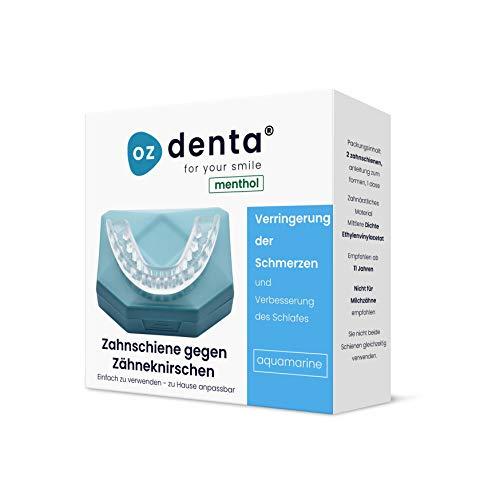 Menthol Aufbissschiene Zahnschutz beim nächtlichen Zähneknirschen Knirscherschiene Zahnschiene 100% ige Zufriedenheitsgarantie -