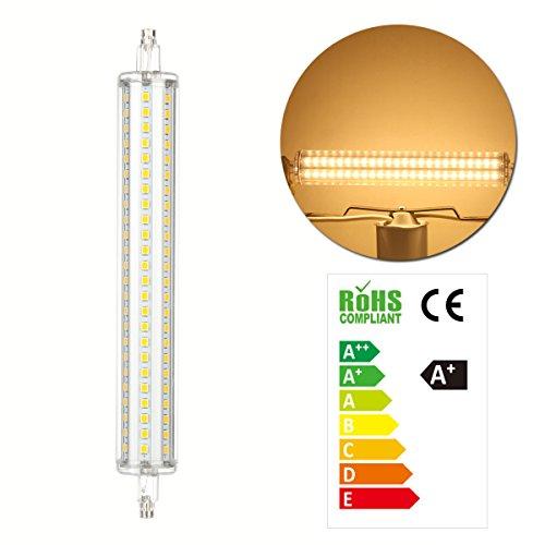 GreenSun 12W R7S LED 189mm 144*SMD2835 Leuchtmittel Fluter Strahler Leuchte Xmas Halogenstab Warmweiß 360°AC 85V-265V