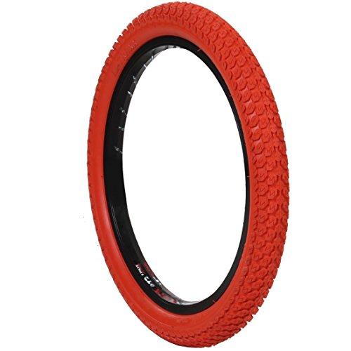 18 Zoll DSI BMX Reifen 18x1,75 grün, blau oder rot, Farbe:rot