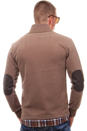 MCL Homme Hauts / Pullover 2 In 1 Look Brun