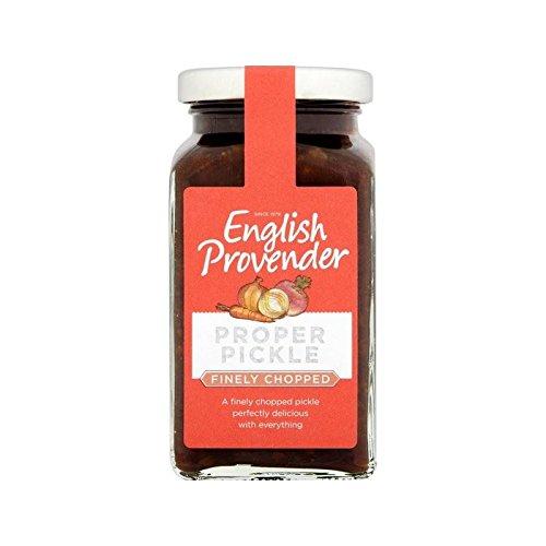 Anglais Provender Finement Haché 325G Cornichon - Paquet de 2