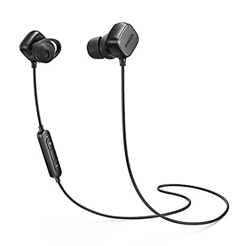 Wireless Headphones, Anker SoundBuds Tag In-Ear Bluetooth Earbuds, Smart Magnetic Headphones with aptX Technology, CVC 6.0 Noise Cancellation, 6 Hour Playtime — Bluetooth 4.1 Headset with