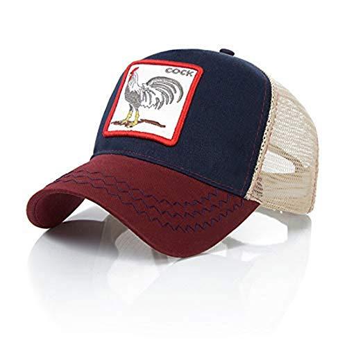 Ss - Gorra béisbol - hombre Cock Navy Blue Wine Red