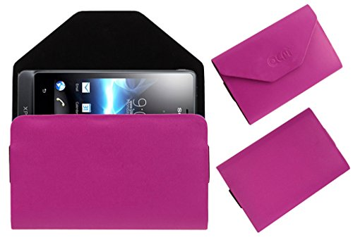 Acm Premium Pouch Case For Sony Ericsson Xperia Go St27i Flip Flap Cover Holder Pink  available at amazon for Rs.329