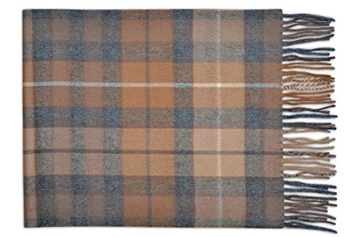 Pasquale Cutarelli Unisex Wool Plain Scarf Gift Boxed Men's Clothing PLA-W