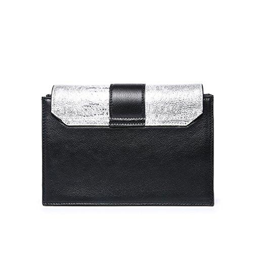 E-Girl Q0887 Damen Leder Handtaschen Satchel Tote Taschen Schultertaschen Weiß