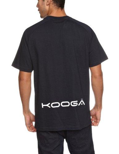 Kooga Rugby Men's Basic-T-Shirt - Navy/Weiß