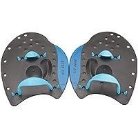 winomo 1par de natación Remo–Palas para trainng nadar principiantes adultos niños tamaño L (Azul)