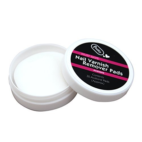 nail-varnish-remover-60-pads-wipe-cleaning-manicure-for-natural-nails