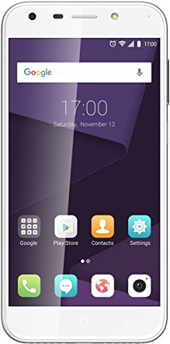 ZTE Blade A6 Smartphone (13,2 cm (5,2 Zoll) Display, 32 GB Speicher, Dual-SIM, Android 7.0) Silber