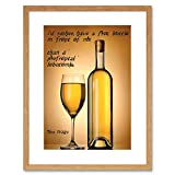 TOM WAITS BOTTLE IN FRONT LOBOTOMY QUOTE QUALITY FRAMED ART PRINT B12X13861