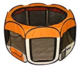 Orange Pet Dog Cat Tent Puppy Playpen Exercise Pen M by BestPet