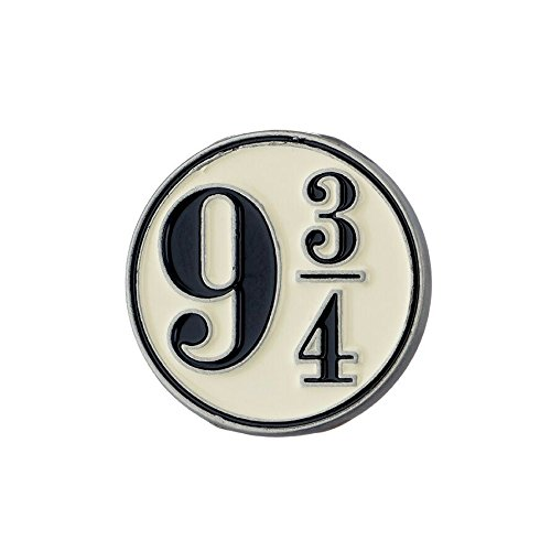 Harry Potter Pin Gleis 9 3/4 Logo Ø1,7cm Schmuck