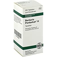 Berberis Pentarkan H Tabletten 200 stk preisvergleich bei billige-tabletten.eu