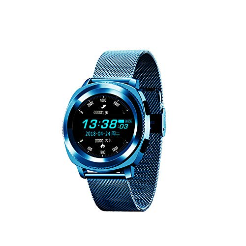 Smart Watch, Bluetooth Intelligente Armbanduhr Fitness-Tracker Uhr Sportuhr mit IP68 Wasserdicht Herzfrequenz Blutdruckmessung Blutsauerstoff Monitor Schrittzähler
