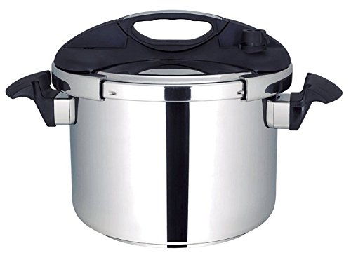 Olla presion rapida Thulos Ø 24cm 10 Litros todas las cocinas acero...