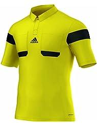 Adidas Schiedsrichter Trikot K/A 13/14 Herren Neongelb-Schwarz