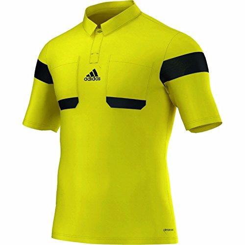 Adidas Schiedsrichter Trikot K/A 13/14 Herren Neongelb-Schwarz, G73815_Größe:L