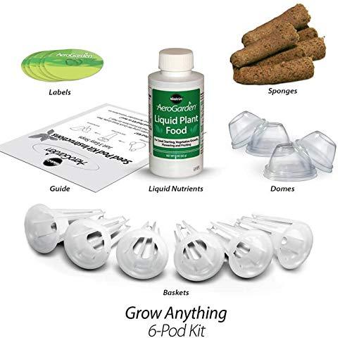 Miracle-Gro AeroGarden kit de capsules de graines d'herbes gourmets (6 capsules)