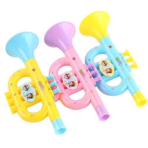 Multicolor Horn Hooter Trompete Musikinstrument Bildung Spielzeug Geschenk Neuheit Lustiges Spielzeug Random Color ()