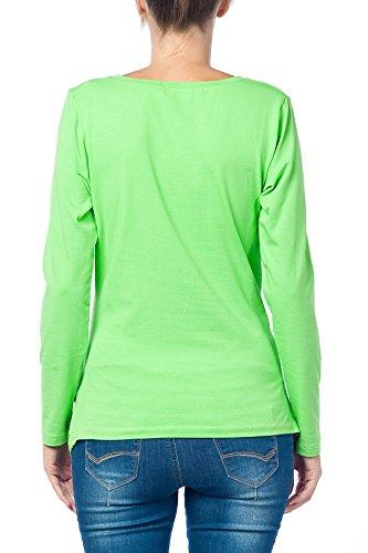 Divertente dolce push moda T-shirt con motivo Schwa borraccia codolo regalo - maglia a maniche lunghe Verde