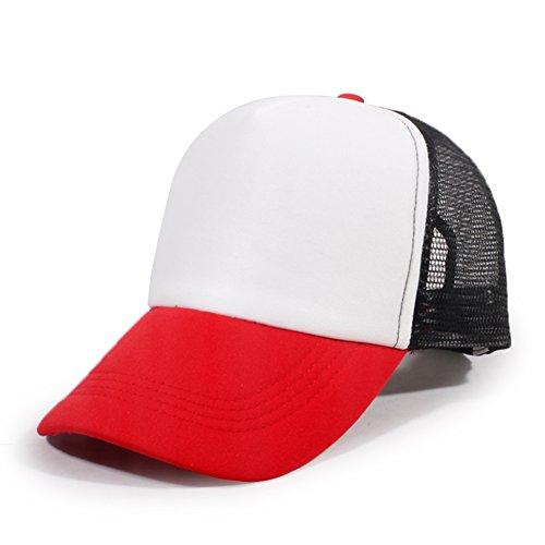 Hut/Cap Frühling koreanischen Männer/Damen Baseballcap/ Mesh Cap Benn/ Millinery Sommer Gezeiten-P One (Kostüme Benn Herr)