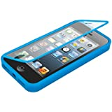 kwmobile TPU Silikon Hülle für Apple iPhone SE / 5 / 5S - Full Body Protector Cover Komplett Schutzhülle Case in Hellblau