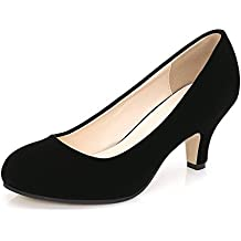 e031892a563e4 OCHENTA Femme Escarpins Talon Aiguille Hauteur 6 CM Chaussure Talon Moyenne