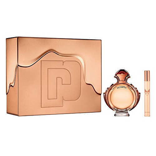 Paco Rabanne Olympea Intense Set 80ml EDP Eau de Parfum Spray + 10ml EDP Eau de Parfum Spray - 10 Ml Eau De Parfum Spray