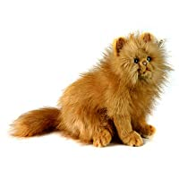 Red/Ginger Cat Plush Soft Toy by Hansa. Red Persian Type. 30cm. 4223