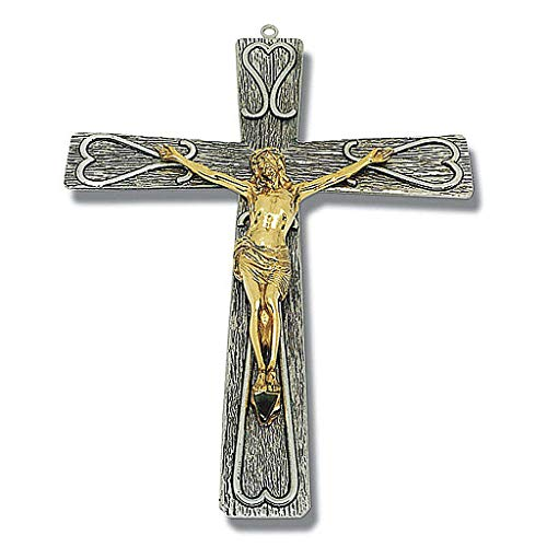 Holyart Kruzifix bearbeitete Bronze