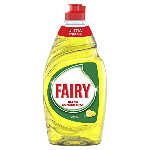 fairy ultra plus konzentrat Fairy Ultra Spülmittel Zitrone, 10er Pack (10 x 450 ml)