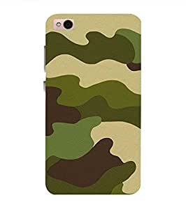 Fuson Designer Phone Back Case Cover Xiaomi Mi 6 Plus (5.7 Inch Screen) ( Cool Army Camouflage Pattern )