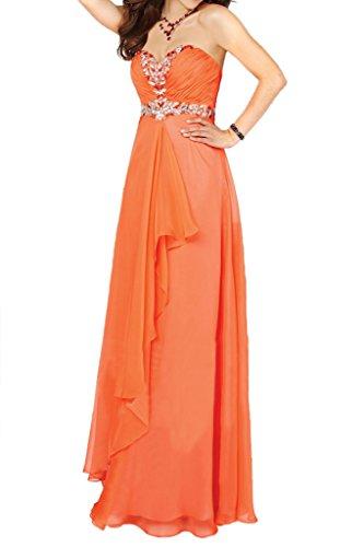 Missdressy -  Vestito  - linea ad a - Donna Arancione