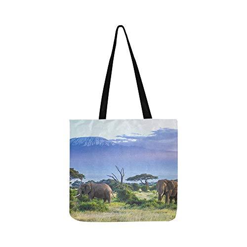 Elefantes Kilimanjaro SHAOKAO SHAOKAO Bolso de mano Bolso Bandolera Bolsos bandolera Bolsos...