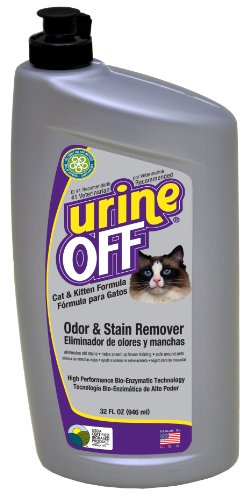 Urine Off Odour and Stain Remover for Cats and Kittens 946ml 1
