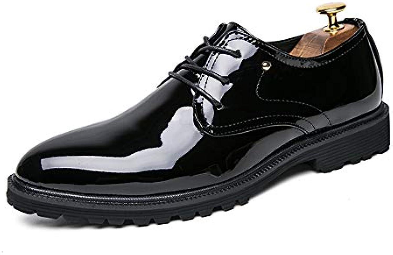 Xiazhi-scarpe, Scarpe Oxford da Uomo da Uomo, Scarpe Scarpe Scarpe da Cerimonia Inglesi Casual Moda con Lacci in Pelle (Coloree... | Conosciuto per la sua buona qualità  | Uomini/Donne Scarpa  9a90c0