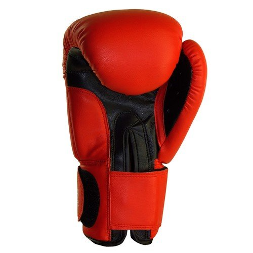 BENLEE Rocky Marciano Fighter Boxhandschuhe, Red/Black, 18 oz