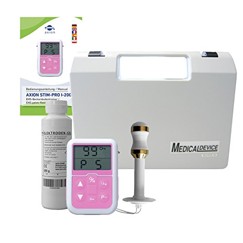 Electroestimulador vaginal electrodos oro - Sonda