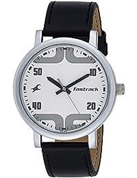 Fastrack Bold Analog White Dial Men's Watch-38052SL04
