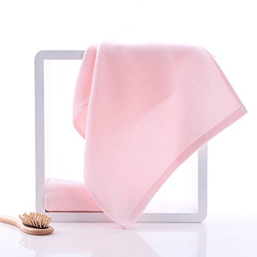 Morbido sano multicolore respirabile asciutto Asciugamani ( Colore : Viola ) Rosa