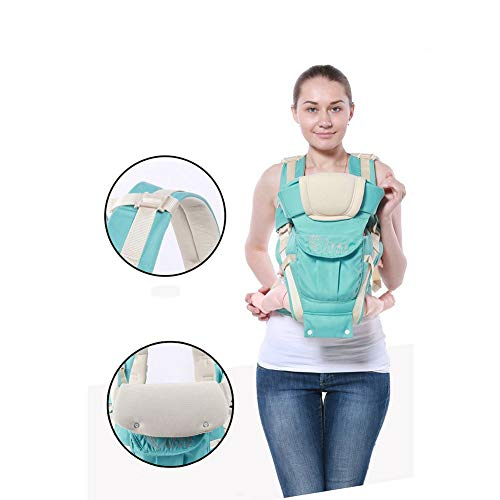 Baby Carrier Baby Waist Bench With Four Seasons Multi Functional Baby Single Stool Waist Universal Support Seat,Green Back Carrier  udxvsdfhd