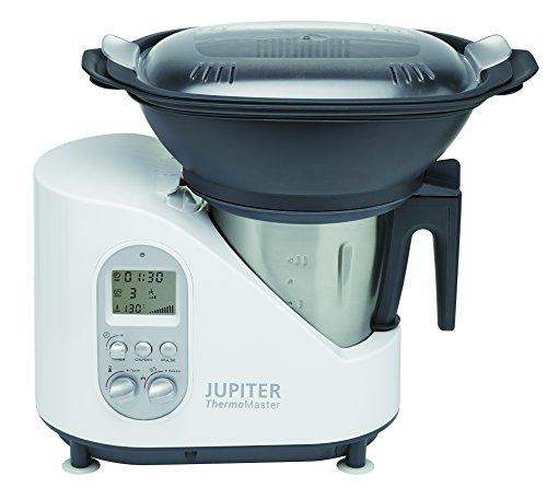 Jupiter 881001 Thermomaster mit Rezeptbuch, weiß -
