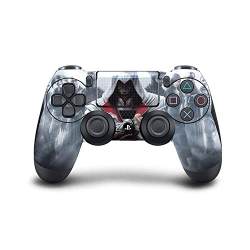 PS4-Assassin's Creed Controller Skin für PS4 Dualshock 4, individuell Angepasste Konsole Pro Modded Chip