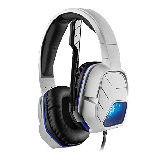 Price comparison product image Afterglow LVL 5 Wired Stereo Headset for PS4 - White