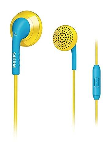 Philips SHE2675YB/10 Universeller In Ear-Kopfhörer für iPhone Gelb /